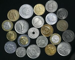 World Coin Collection Lot Of 22 Coins Dates Countries Auction From 1 Ebay