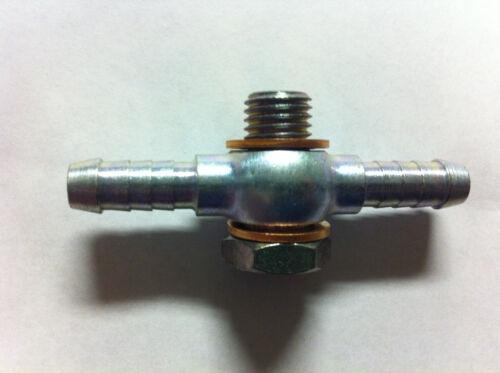 """Bolt head 17mm bolt /&  washers Line ID 8mm 5//16/"""" 12 X 1.5mm Thread DBL Banjo"""