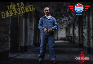 【IN STOCK】1//6 The Silence of The Lambs Dr Hannibal Figure Set 2.0 W// TWO HEADS