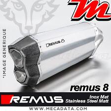 Silenziatore Tubo di scarico Remus 8 acciaio inox opaco BMW R 1200 GS Adventure