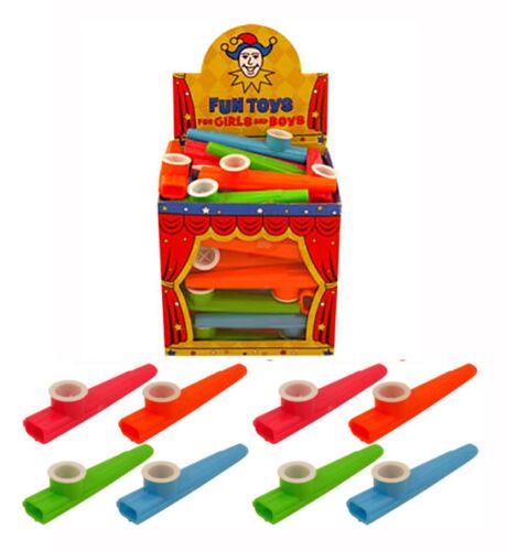 Childrens Toy Plastique Kazoo Music Maker 4 différentes couleurs 11 cm