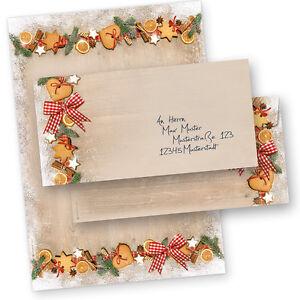 Weihnachtsbriefpapier-LANDIDYLLE-Briefpapier-fuer-Weihnachten-Firmen-geschaeftlich