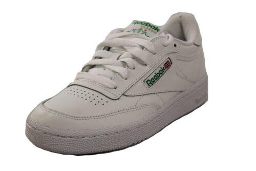 Reebok señores Classics Club C 85 talla 50 blanco verde cortos zapatos hommes #aa22b