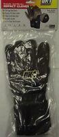 Ok-1 Ok-995e Antivibration Style Work Glove Hook & Loop Closure Prem Leather Med
