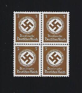 MNH-LARGE-WWII-emblem-stamp-block-1942-PF03-Third-Reich-Germany-MNH-Block