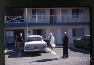 1973-35mm-Photo-Slide-Red-Feather-Lodge-Motel-Grand-Canyon-Arizona-2-cars