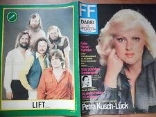 + FF Dabei 43 - 1980 Petra Kusch-Lück Gruppe LIFT Eisrevue Ohne Programmteil
