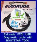 PROFESSIONAL EVINRUDE ETEC diagnostic cable SET,(FICHT,Johnson) EMM restoring!