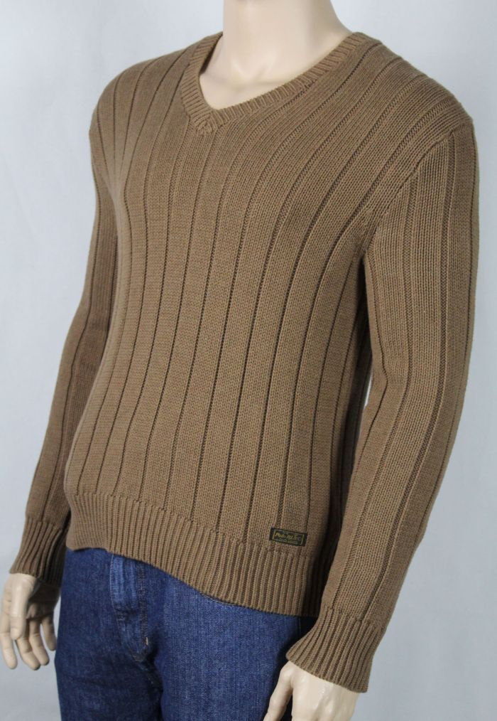 Polo Ralph Lauren Large L Tan Sweater NWT