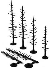 Woodland Scenics TR1124 - 70 Pines Plastic Tree Armatures - Tracked 48 Post