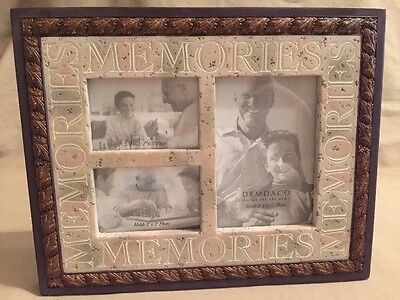 "Heartstone Stone Resin Picture Frame ""memories"""