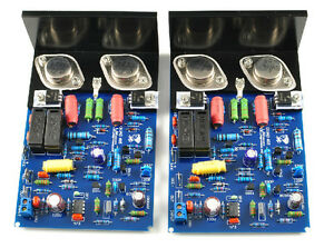 QUAD405-Audiophile-HiFi-Power-Amp-2-0-Channel-Stereo-Amplifier-Assembled-Board