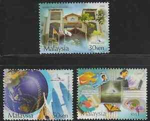 (316)MALAYSIA 2004 MALAYSIA MULTIMEDIA SUPER CORRIDOR SET FRESH MNH