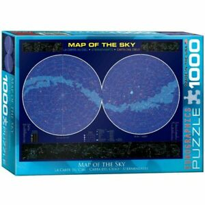 Eurographics Jigsaw Puzzle 1000 Piece - Map of the Sky EG60001010