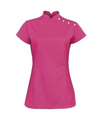 Niedrigerer Preis Mit Beauty/healthcare Ladies Nf959 /salon/spatunics Hot Pink Assorted Sizes Bnwt Modern Und Elegant In Mode