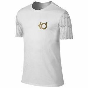 Nike Boys -  Nike KD Aunt Pearl T-Shirt in White/White