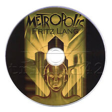 Metropolis DVD (1927) Sci-Fi Movie/Film Starring Brigitte Helm & Gustav Fröhlich