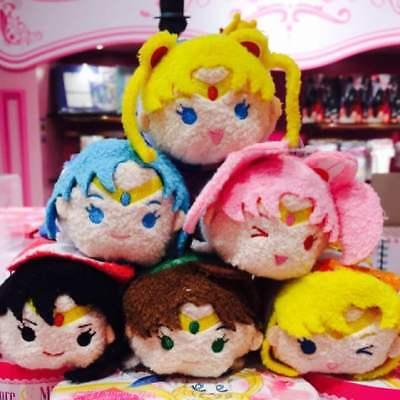 【sailor moon store × USAGI Birthday event 】Sailor Moon 6set TsumTsum mascot