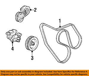 97 seville belt diagram