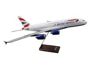 Britannique Airways Airbus A380 A380-800 A 380 Modèle d'avion 1: 100 Limox Lm178
