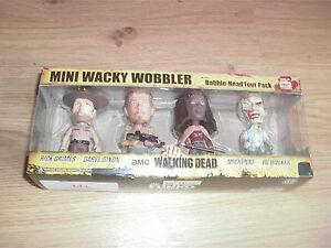 Rv Walker Funko SchöN In Farbe Daryl Trendmarkierung Walking Dead Mini Wacky Wobbler 4er Set Michonne Rick