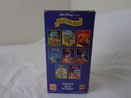 Walt Disney Aladdin Burger King Glass 1994 Original Box--NIB