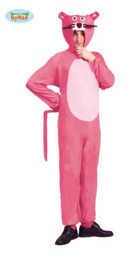 GUIRCA Costume vestito pantera rosa  animali carnevale adulto mod 80726