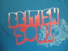 British Britian England Soul Ben Sherman T Shirt L