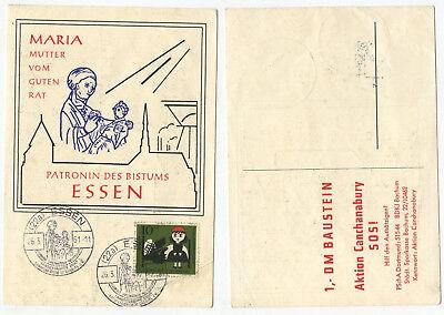 06454 - Sonderstempel: Sammlergilde St. Gabriel - Essen 26.3.1961 Kaufen Sie Immer Gut