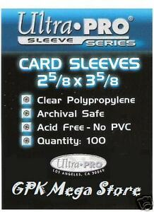 100-ULTRA-PRO-SLEEVES-DECK-PROTECTORS-ANY-CARDS-POKEMON-YUGIOH-MTG-MATCH-ATTAX