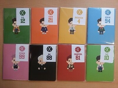[KPOP]SM COEX ARTIUM GOODS - EXO LOVE ME RIGHT PAPER TOY Mini Note Free Shipping