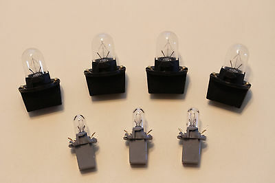 84-89 CORVETTE XENON  BULBS LCD  DASH CLUSTER  LAMPS Replaces 882 Halogen
