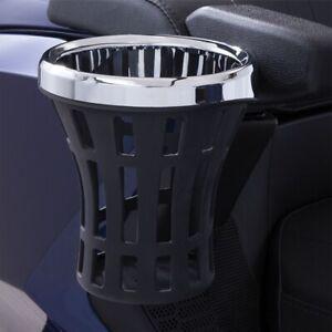 Ciro Black Big Ass Drink Holder with 14-up Passenger Mount