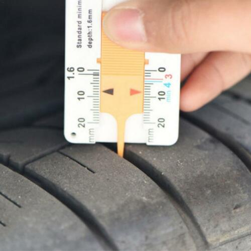 Car Digital Tyre Wheel Tire Tread Depth Tester Gauge Meter Measurer Tool 0-20mm