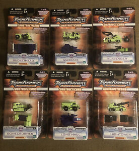 Transformers Universe Micromaster series 2 Constructicons complete lot of 6