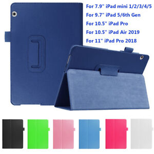 New-Ultra-Slim-Case-Leather-Cover-For-Apple-iPad-mini-7-9-034-9-7-034-Pro-Air-10-5-034