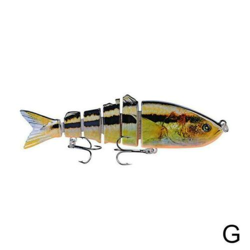 1PC Swimbait Fishing Lures 12cm//18.5g Artificial Hard Bass 12 Baits Tackle Z5A5