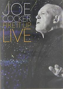 Joe-COCKER-Fire-It-Up-Live-DVD-NUOVO
