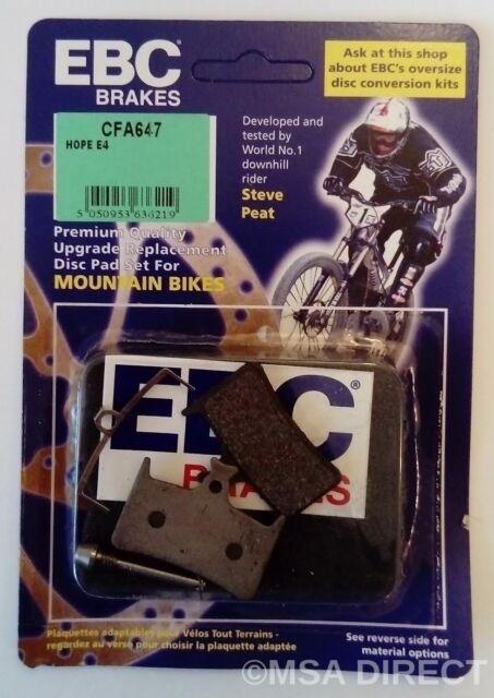 Bicycle MTB Mountain Bike Metal Disc Brake Resin Pad For Shimano Avid Hope