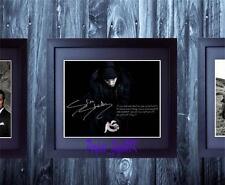 Eminem Slim Shady 8 Mile SIGNED AUTOGRAPHED FRAMED 10x8 REPRO PHOTO PRINT
