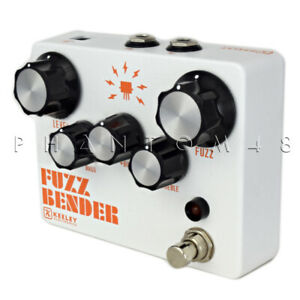 Details about Keeley Fuzz Bender - 3 Transistor Hybrid Fuzz Guitar Effects  Pedal - NEW