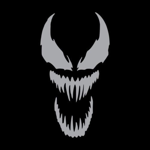 "6.5/"" VENOM FACE Vinyl Decal Sticker Car Window Laptop Marvel Spiderman"