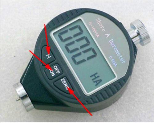 NEW DIGITAL Shore A Rubber Hardness Tester Guage Durometer NIB