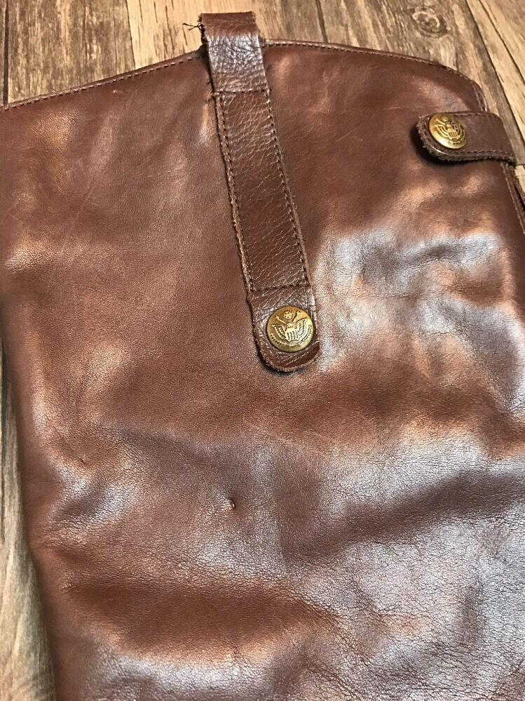 Sam Zip Edelman Brown Leather Back Zip Sam Penny Knee High Riding Boots Size 7 EU 37.5 79f147