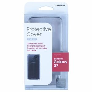 Samsung-Galaxy-S7-Edge-amp-Galaxy-S7-Clear-View-Case-Cover-Original-New-In-Box