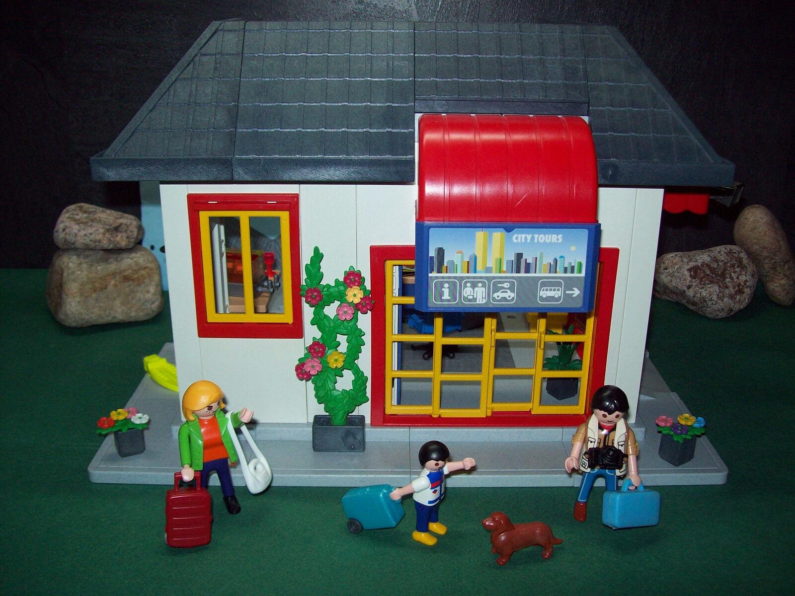 Playmobil Klettergerüst : Playmobil cityhaus a mit reisebüro