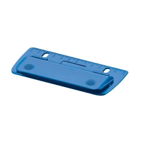 """abheftbar Herlitz Taschenlocher /""""blau/"""" Mini Locher"""