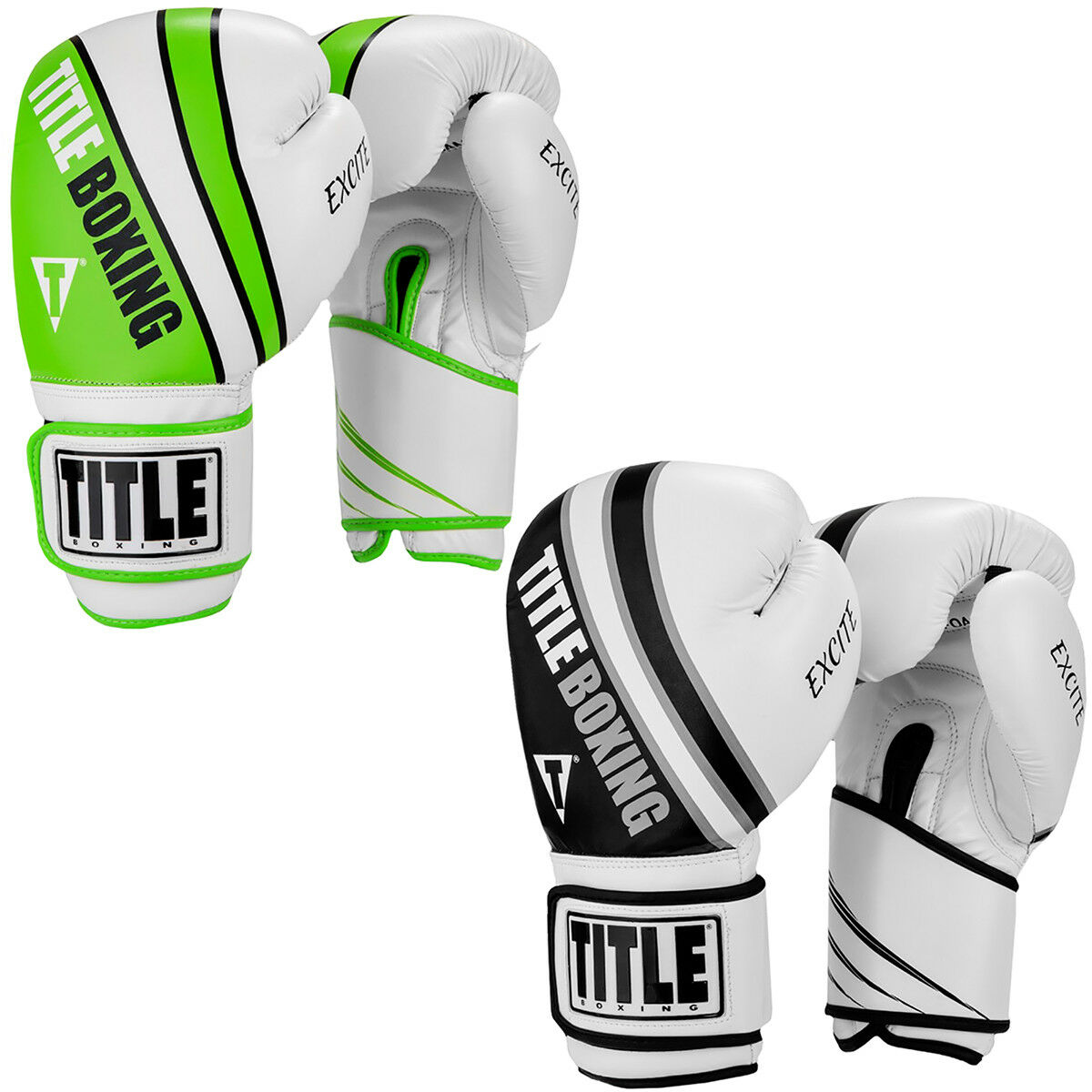 Title Boxing Infused Foam Excite Hook and  Loop Training G s  amazing colorways