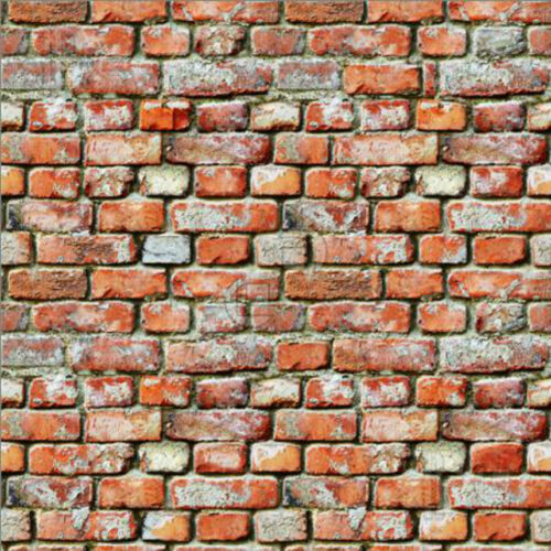 ADHESIVE BACK v1 # 5 SHEETS BRICK brick wall 21x29cm 1//12  Scale BUMPY EMBOSSED