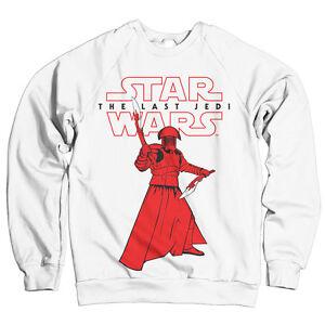 The Wars ufficiale White Star S Felpa Praetorian Jedi Last con Guard xxl licenza R56dw4q